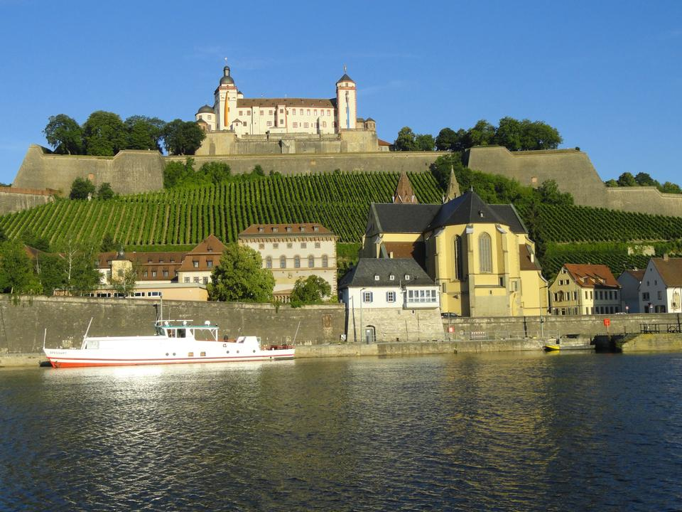Free Marienberg Fortress in Wurzburg Germany