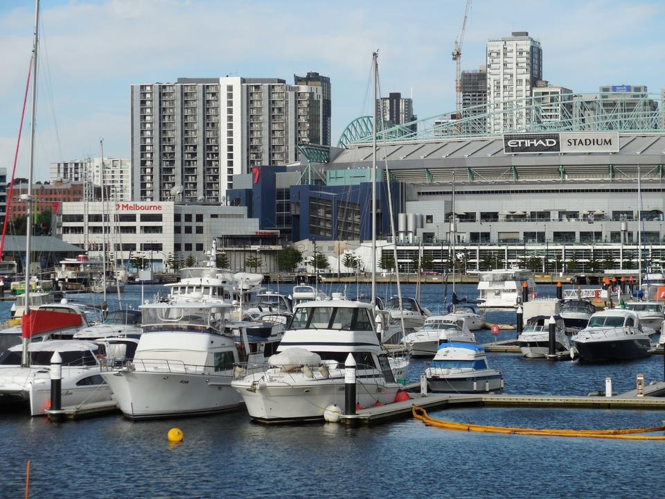 Free Etihad Stadium in Melbourne Docklands