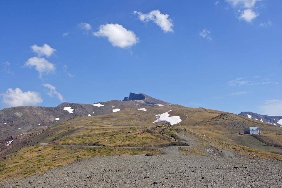 Free Veleta is the second highest peak in the Sierra Nevada