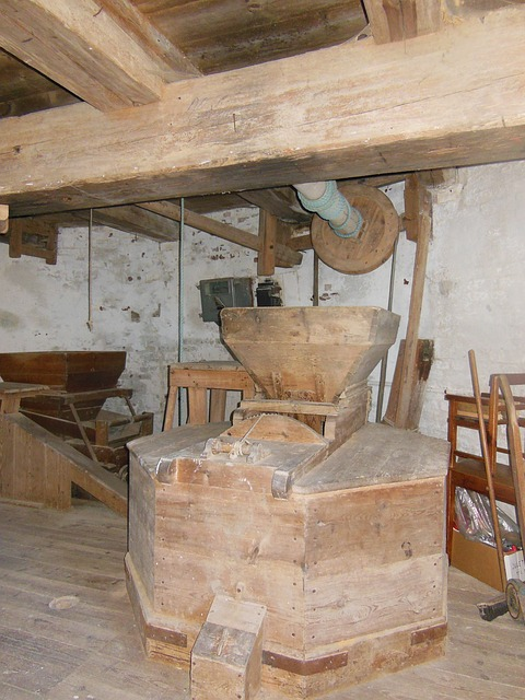 Free old windmill dyrhave mill interior old profession