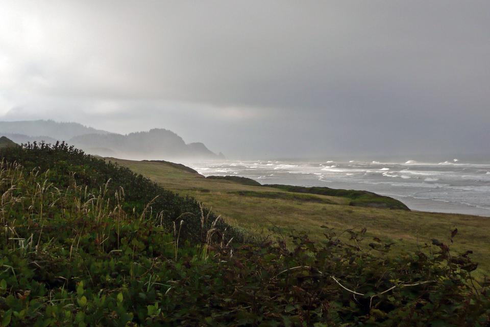 Free Oregon coast pacific northwest cliffs & beaches