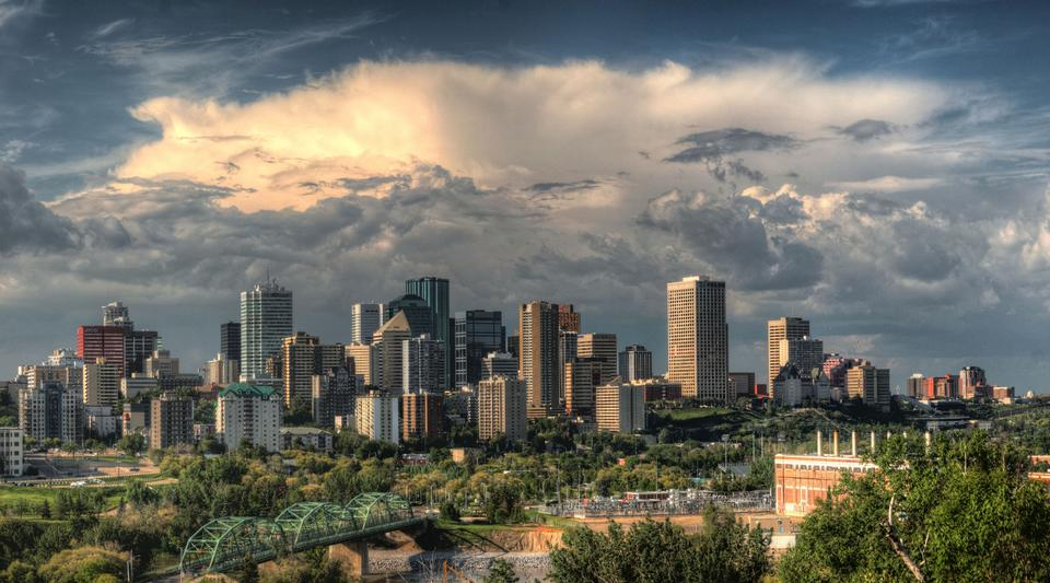Free Photos: Skyline of Edmonton, Alberta, Canada | publicdomain