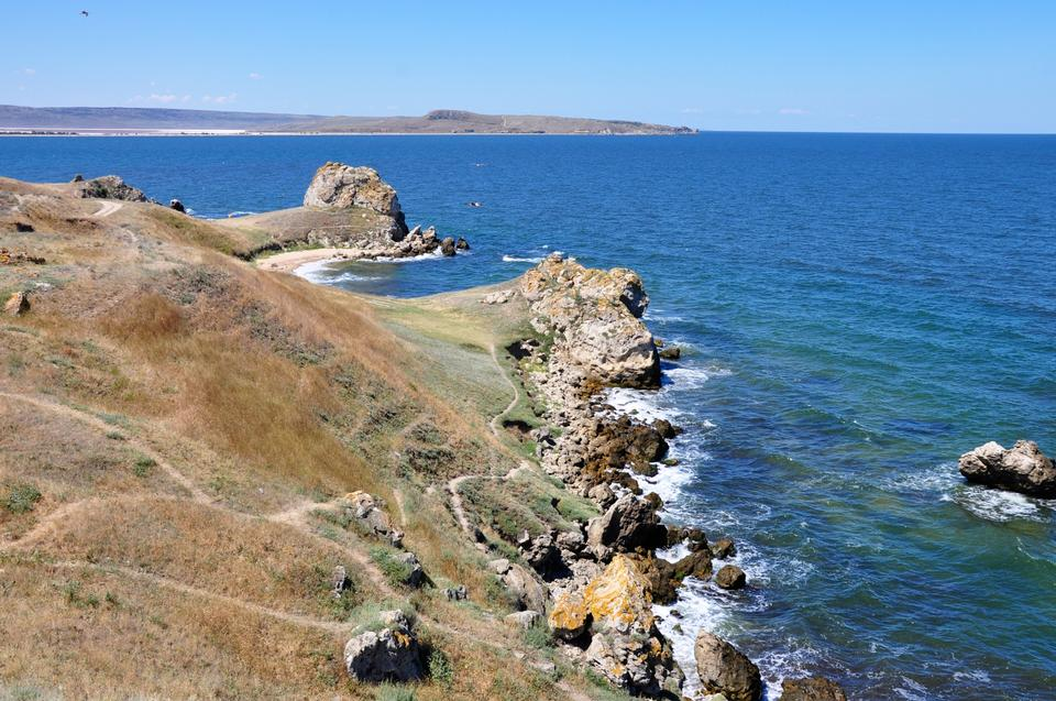 Free Sea of Zyuk of the Kerch Peninsula