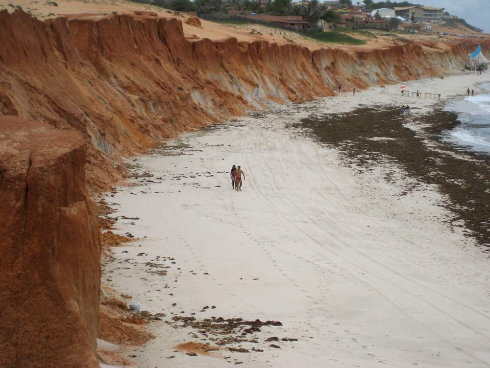 Free Red Cliff Canoa Quebrada Brazil