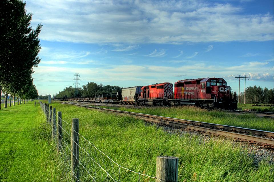 Free A Canadian Pacific train