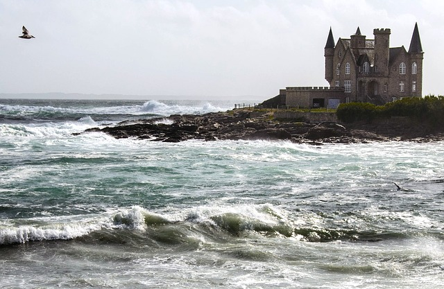 Free Photos: Water france bretagne castle architecture summer | cat brauer