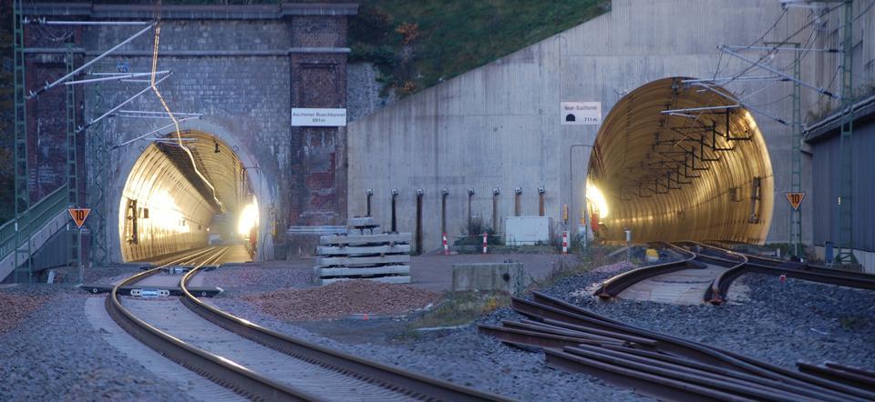 Free Train Tunnel in Aachen