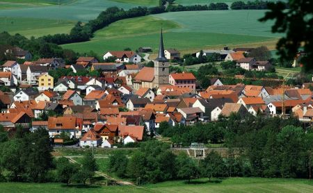Free Picturesque panorama of Bavaria Germany