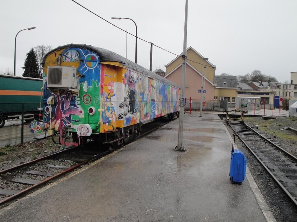 Free Couvin train station Belgium