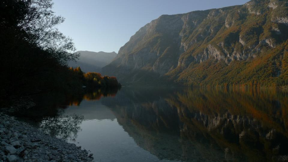 Free Bohinij lake, Slovenia, Europe