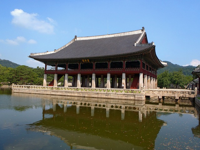Free korea building monument seoul king
