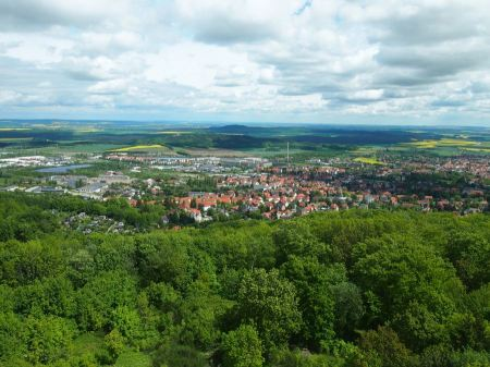 Free Health Resort town in Blankenburg Germany