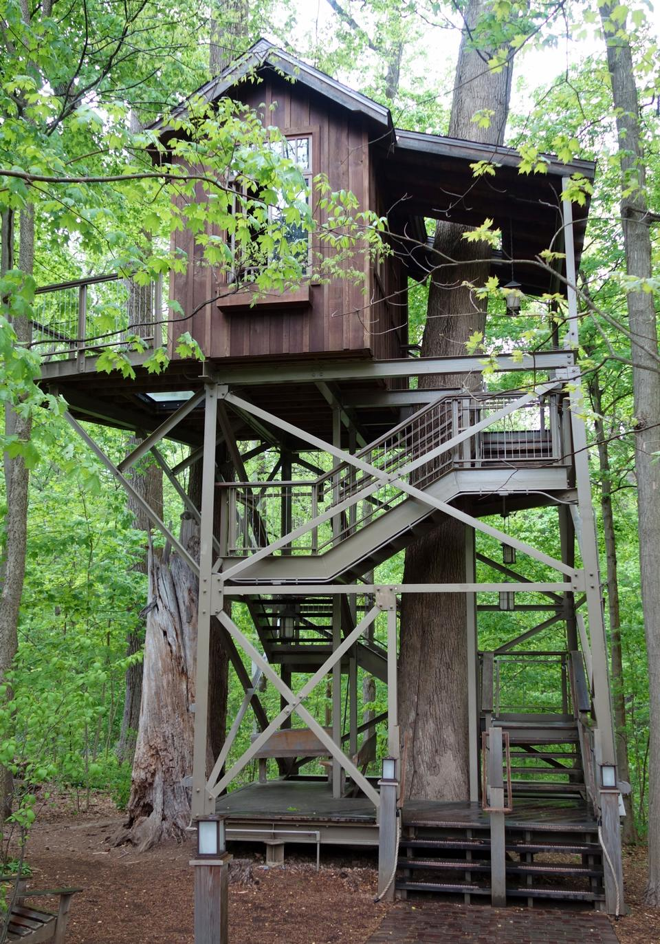 Free Treehouse in Longwood Gardens