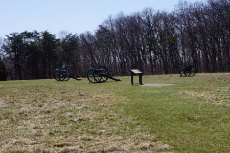 Free Cannons at Manassas National Battlefield Park