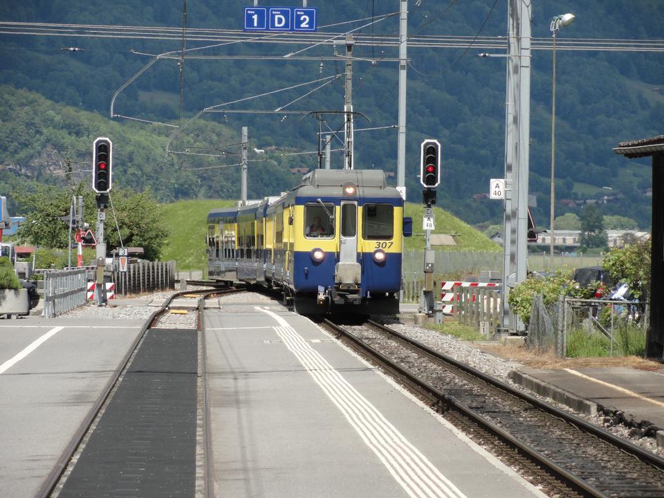 Free Grindelwald Railwaystation, Berner Oberland, Switzerland