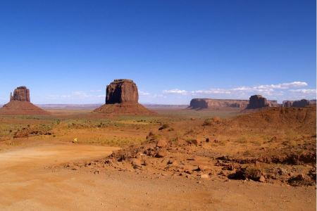 Free Classic View of Monument Valley Tribal Park, Arizona