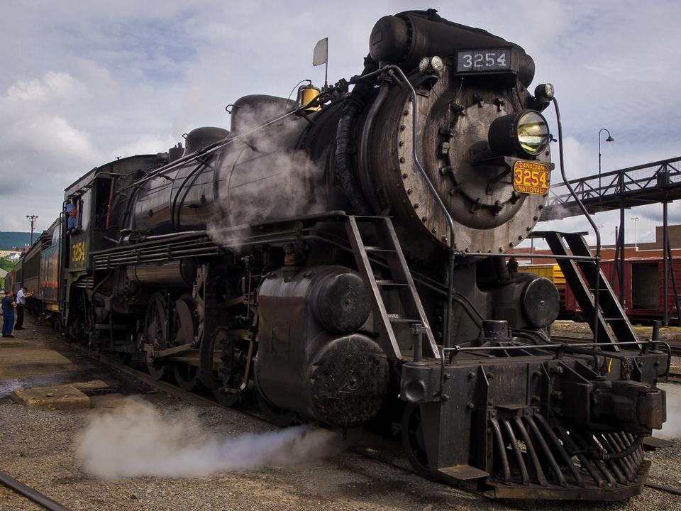 Free Steamtown National Historic Site, PA, USA