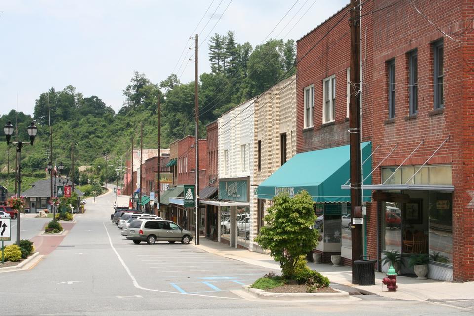 Free Main Street, Spruce Pine NC