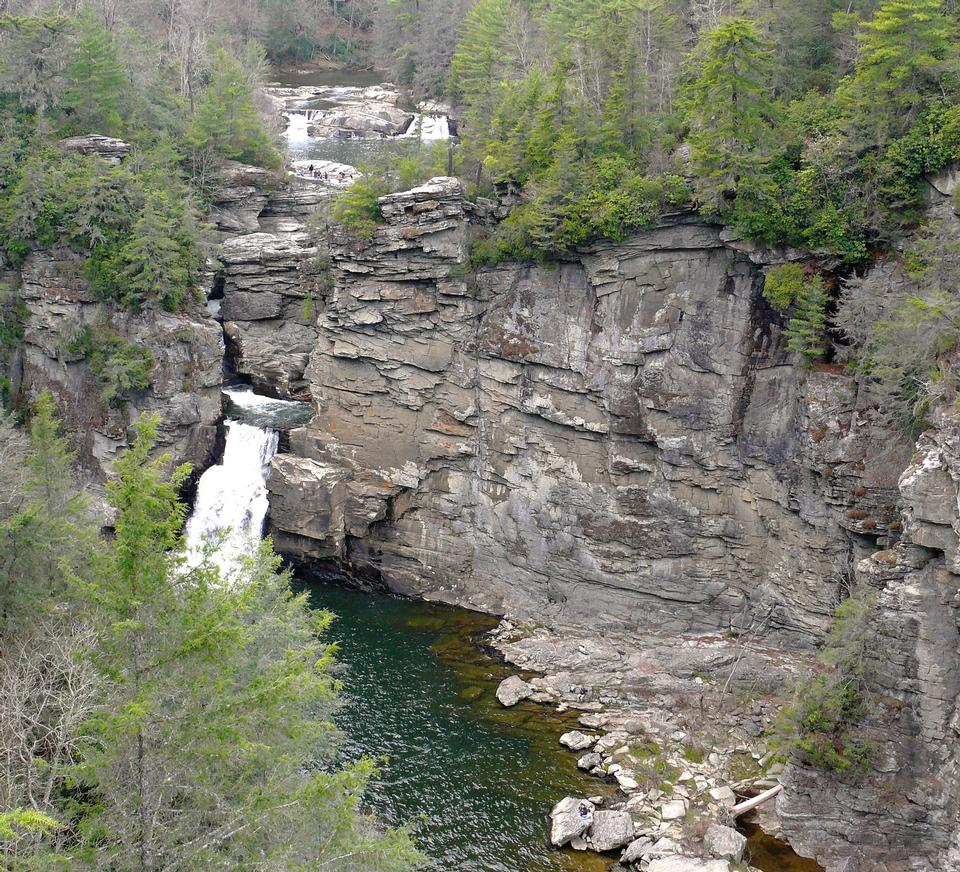 Free Linville Falls in the Linville Gorge Wilderness