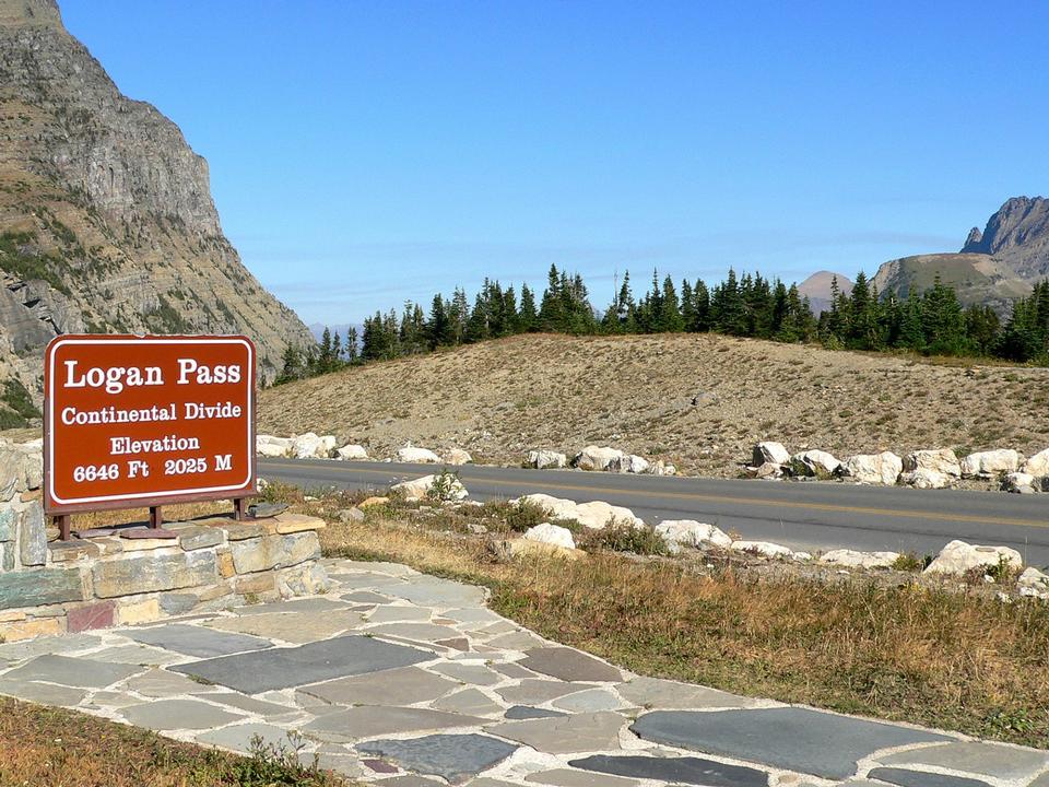 Free Logan Pass Glacier National Park, Montana, USA