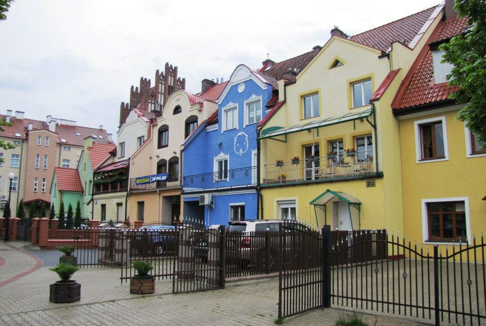 Free Colorful Houses in Poland