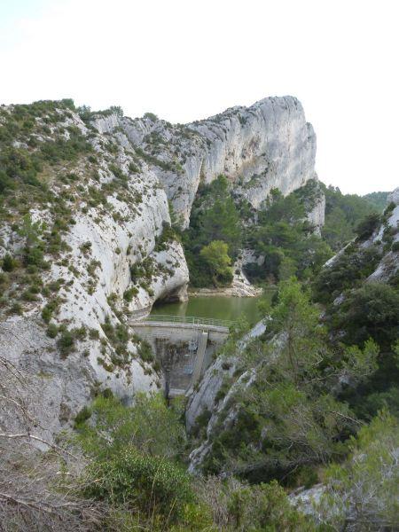 Free Peirou dam in France