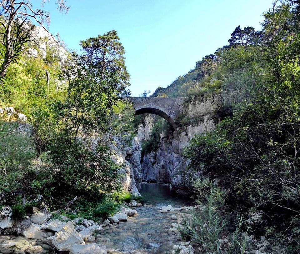 Free Gorges Artuby bridge