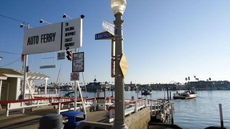 Free Auto Ferry station located on Balboa Island