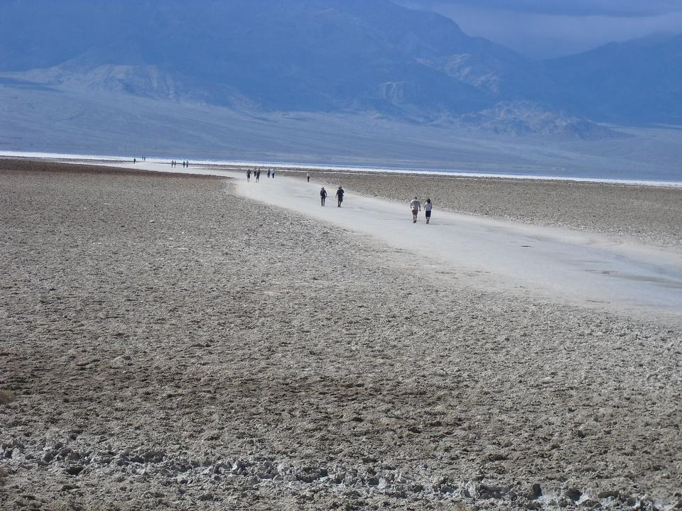 Free Visitors Badwater in Death Valley