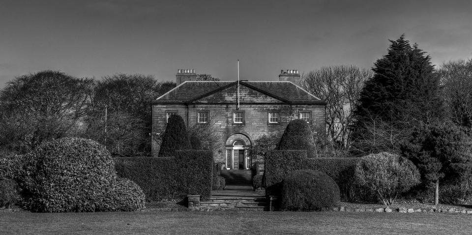 Free Backworth Hall, Northumberland, UK