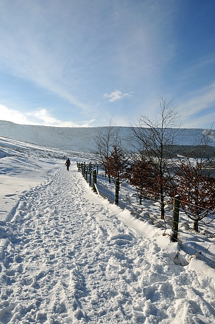 Free winter magic near dovestones reservoir united kingdom