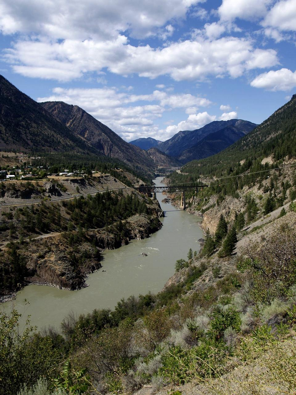 Free Fraser River in  British Columbia Canada