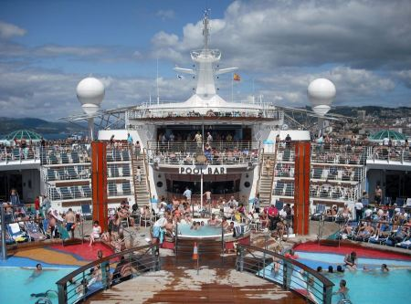 Free abord MS Independence of the Seas