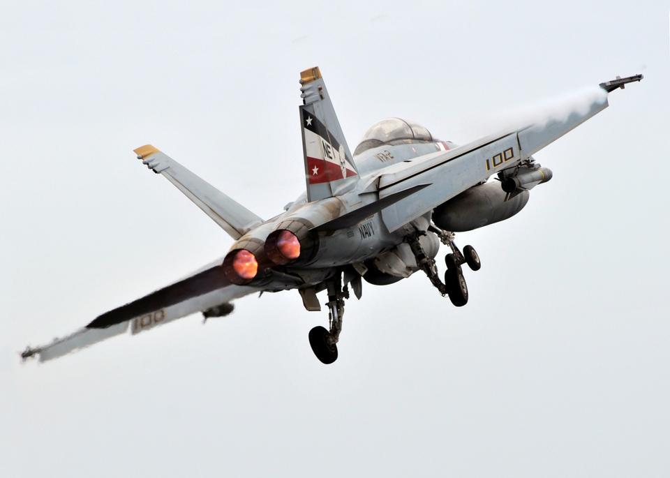 Free An F/A-18F Super Hornet launch
