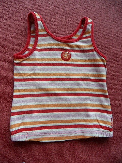 Free top striped t shirt clothing children's clothing