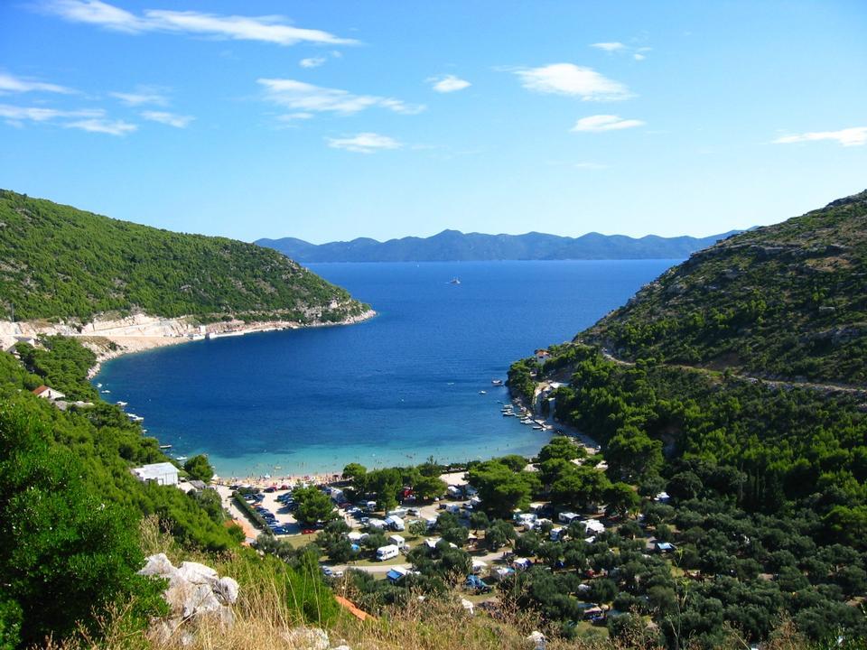 Free Prapratno bay on Peljesac peninsula, Croatia, Europe