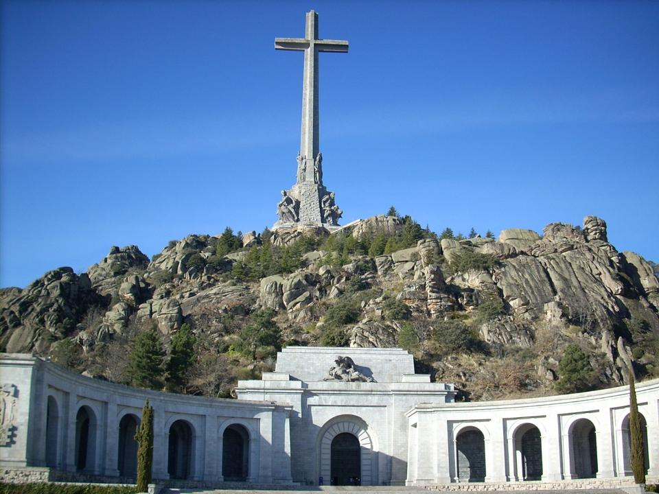 Free Valley of the Fallen, Madrid, Spain