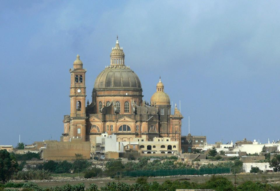 Free Malta - Gozo Island -Church of Saint John the Baptist, Xewkija