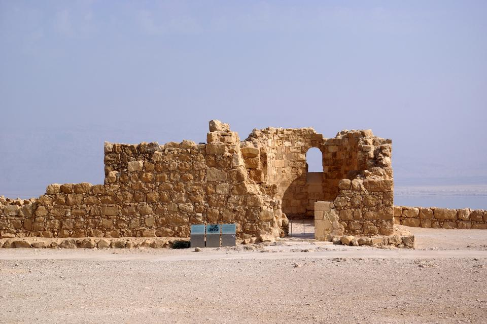 Free Ancient city Masada in Israel