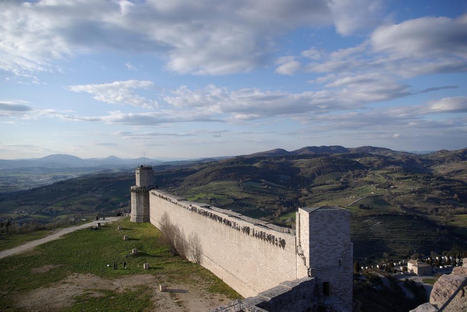Free The imperial fortress Rocca Maggiore