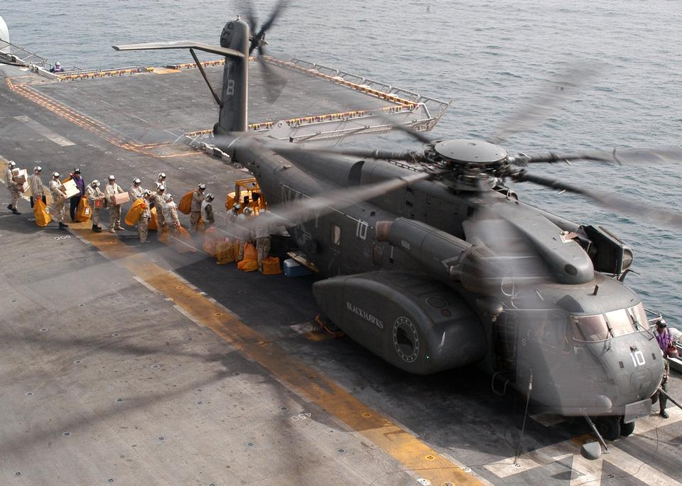 Free MH-53E Sea Dragon from the Blackhawks of Helicopter