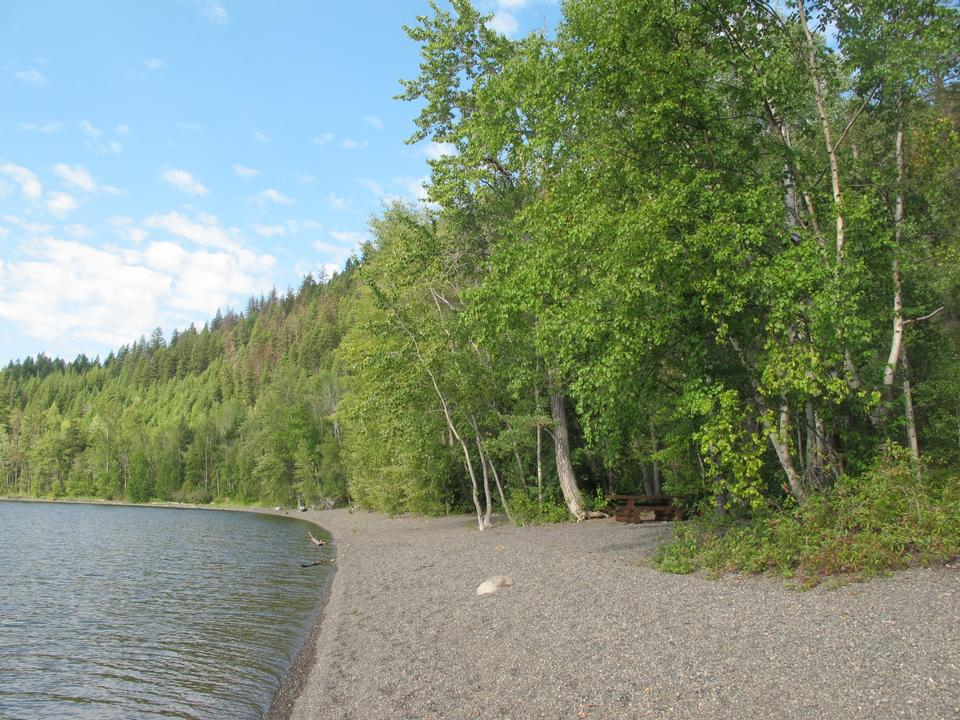 Free Canim Beach Provincial Park from the Shore