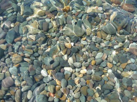 Free Stones under water