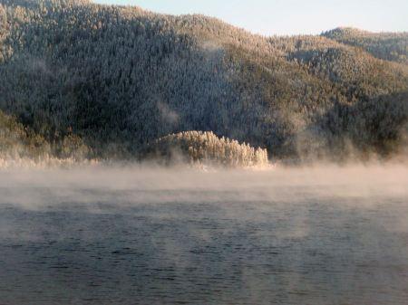 Free Fog Canim Lake British Columbia Canada