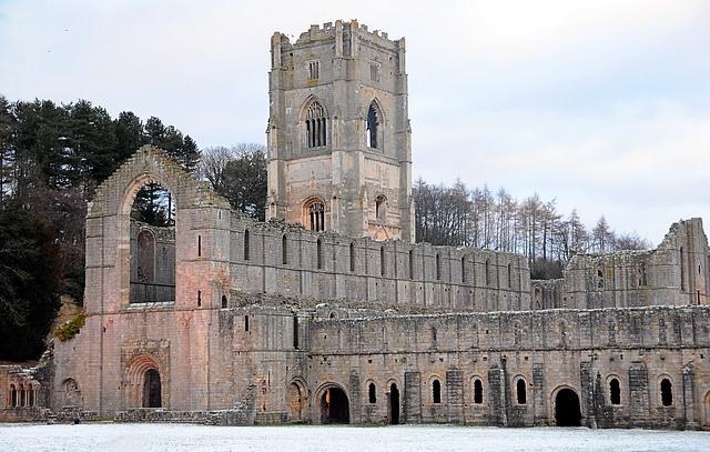 Free fountains abbey cistercian monastery yorkshire