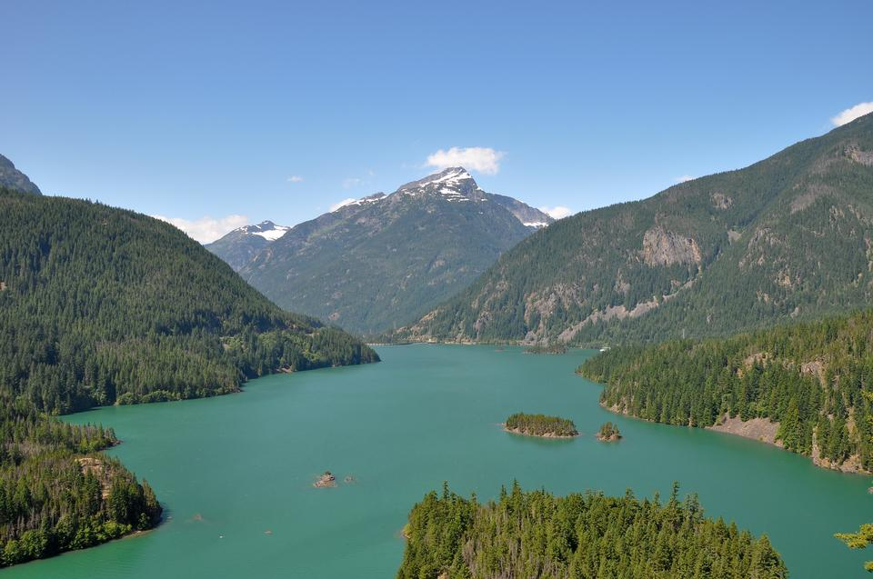 Free Diablo Lake in Washington
