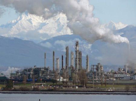 Free Oil Refinery in Anacortes, WA
