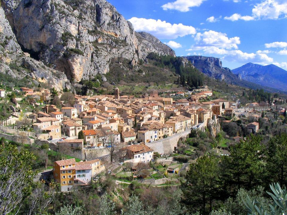 Free Moustiers Sainte Marie, Alpes-de-Haute-Prov ence Departement, Fra