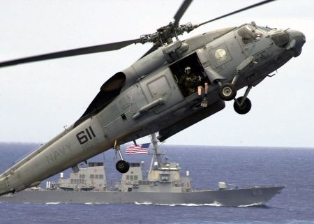 Free An SH-60 Seahawk helicopter