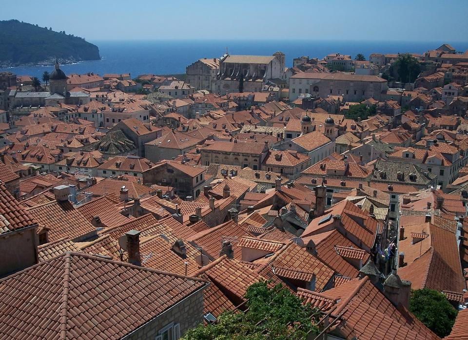 Free Old town of Dubrovnik with Lokrum island